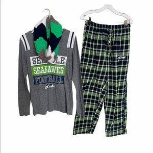 🆕🎃Nfl teams womens medium seahawk bundle